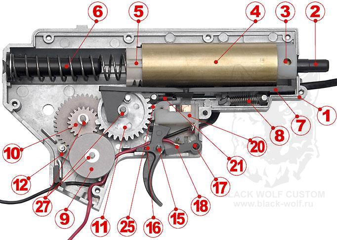 AEG BOX TM 2v. схема 1
