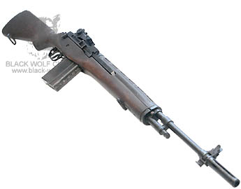 Custom UN Company M14 Full Metal Assault Rifle Gas Blow Back ...